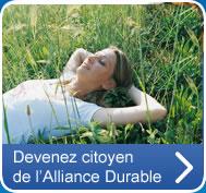 Devenez citoyen de l'Alliance Durable